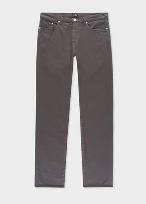 Paul Smith Men's Tapered-Fit Grey Garment-Dye Jeans