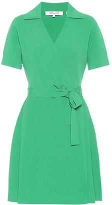 Diane von Furstenberg Zyla stretch knit mini wrap dress