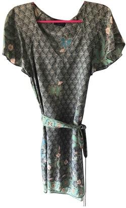 Stella Forest Green Silk Top for Women