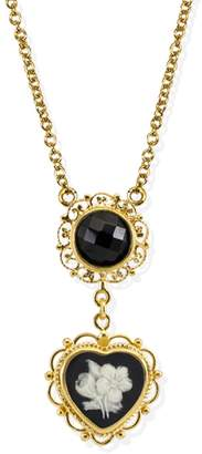 Vintouch Italy - Bouquet Cameo Necklace