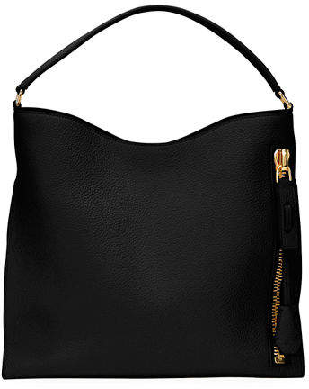 Tom Ford TOM FORD Alix Small Calfskin Hobo Bag