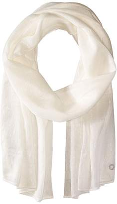 Calvin Klein Liquid Lurex Oblong Scarf Scarves