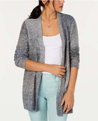 Style&Co. Style & Co Ombre Open-Front Cardigan