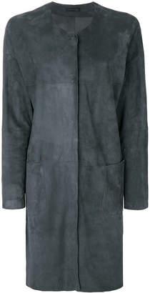 Fabiana Filippi shift button coat