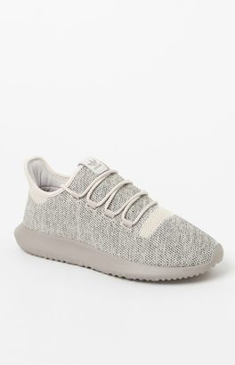 adidas Tubular Shadow Knit Brown Shoes $100 thestylecure.com