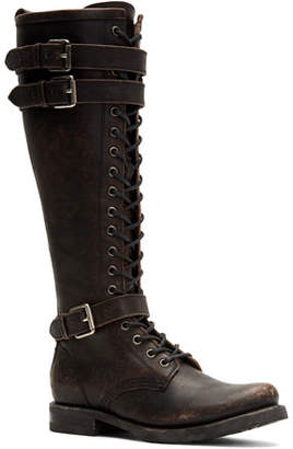 Lace Up Rugged Boots Style