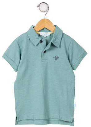 Marie Chantal Boys' Short Sleeve Polo Shirt w/ Tags