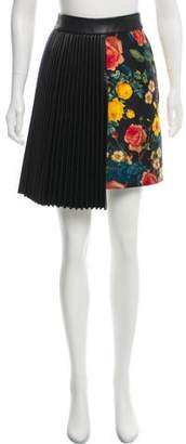 Fausto Puglisi Silk Floral Skirt w/ Tags