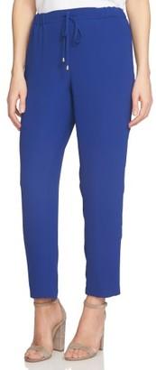 Women's Cece Crepe Ankle Pants $99 thestylecure.com