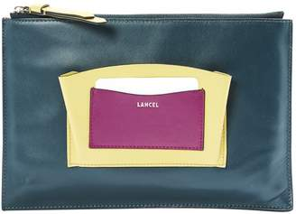 Lancel Leather clutch bag