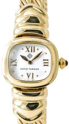David Yurman T-3833 18K Yellow Gold Quartz 21mm Womens Watch