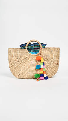 JADEtribe Tassel Basket
