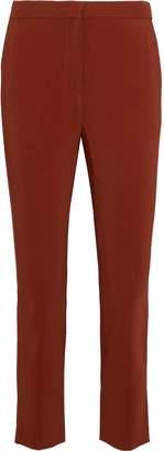 Rosetta Getty Cropped Twill Slim-leg Pants