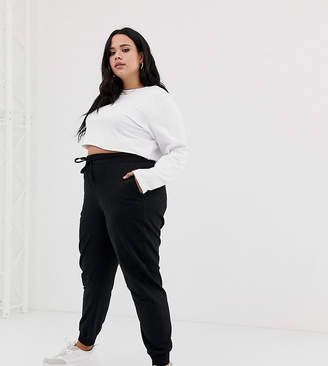 Asos DESIGN Curve basic jogger with tie