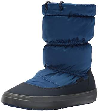 Crocs Women's LodgePoint Shiny Pull-on W Snow Boot