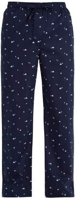 Derek Rose Nelson cotton-batiste pyjama trousers