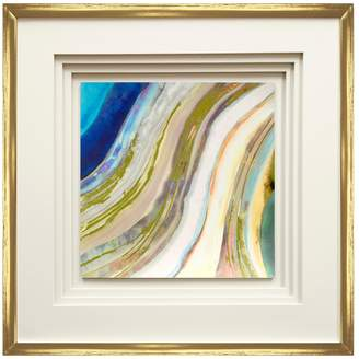 Pi Star Creations Agate I by Gallerie (Framed)