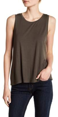 Halogen Split Back Tank Top