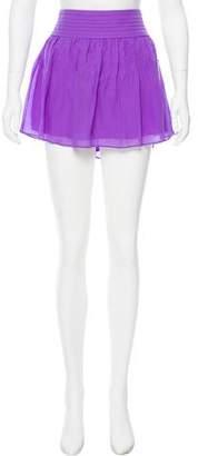 Alice + Olivia Silk Mini Skirt w/ Tags