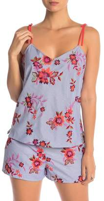 Josie Floral Embroidered Cami