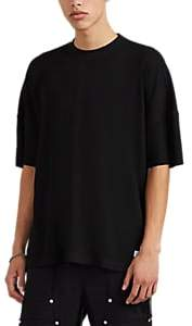 Stampd Men's Oversized Waffle-Knit T-Shirt - Black