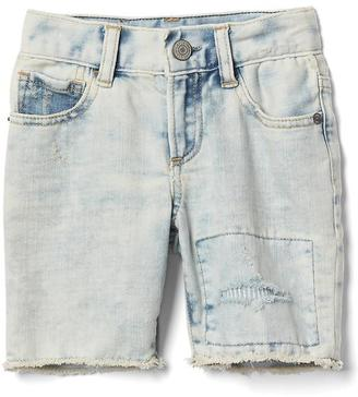 Stretch rip & repair bleach shorts $29.95 thestylecure.com