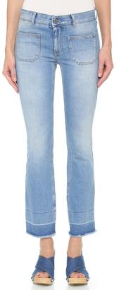 Stella McCartney Skinny Kick Flare Jeans $450 thestylecure.com