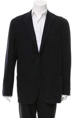 Boglioli Wool Three-Button Blazer