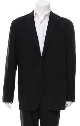 Boglioli Wool Three-Button Blazer
