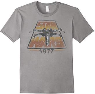 Star Wars X-Wing 1977 Vintage Retro Graphic T-Shirt C1