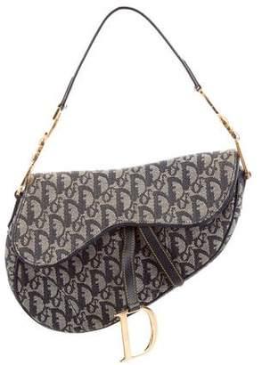 5242fdbfdafd Christian Dior Diorissimo Saddle Bag