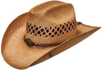Stetson Big River Straw Raffia Hat