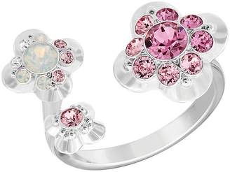 Swarovski Women's Silvertone Cherie Ring