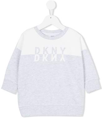 DKNY three-quarter sleeve sweatshirt
