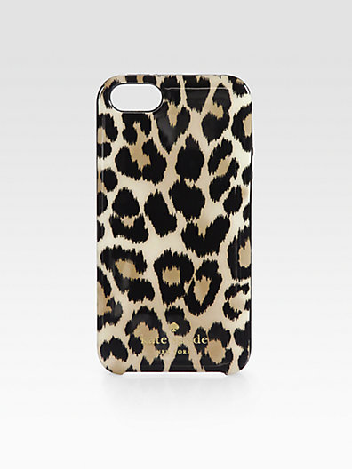 Kate Spade Leopard-Print Case for iPhone 5