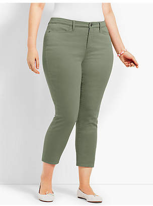 Talbots Colored Denim Crop Jegging