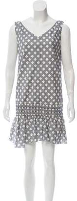 Marc Jacobs Printed Drop Waist Dress