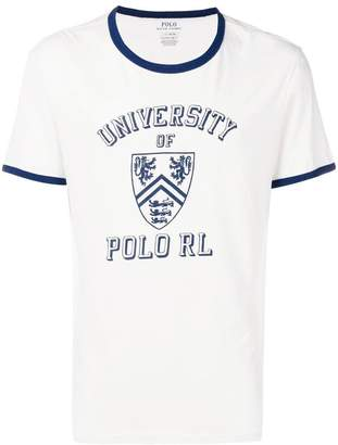 Polo Ralph Lauren logo patch T-shirt