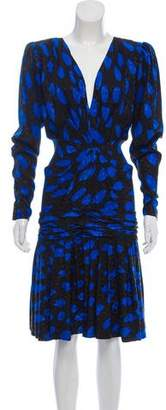 Ungaro Printed Vintage Dress