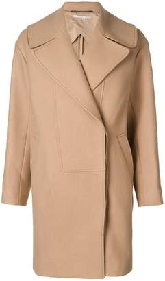 Stella McCartney double-breasted fitted coat