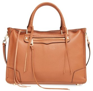 Rebecca Minkoff 'Regan' Satchel - Brown $325 thestylecure.com