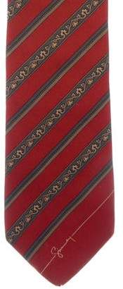 Givenchy Striped Silk Tie
