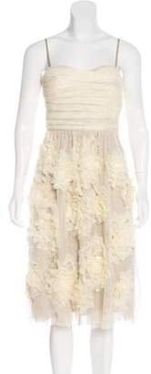 Robert Rodriguez Strapless Evening Dress w/ Tags
