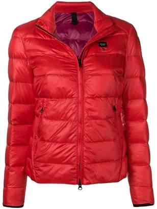 Blauer zip puffer jacket