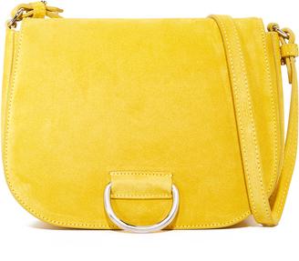 Little Liffner D Saddle Medium Bag $415 thestylecure.com