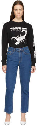 Ashley Williams SSENSE Exclusive Blue Ashley Jeans