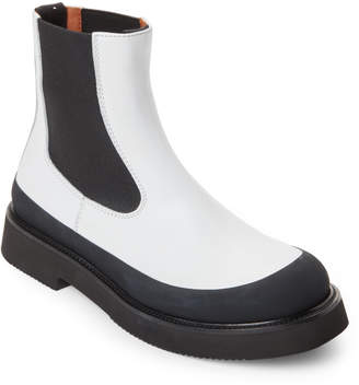 Celine Leather Chelsea Boots