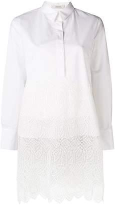 Schumacher Dorothee Purity long-cut blouse