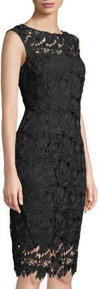 Tahari ASL Kia Lace Sheath Dress