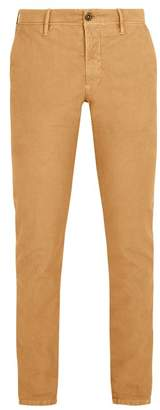 Incotex Slim Leg Chino Trousers - Mens - Camel